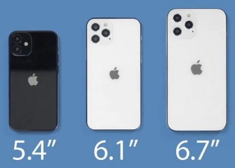 """""""iPhone 12 mini""""的名字出现在泄露的苹果iPhone 12手机壳贴纸中"""