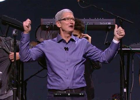 库克:我们做 Apple Music 不是为了钱