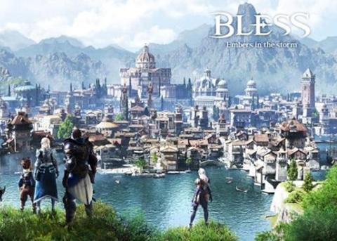 幻想MMORPG 韩系端游《Bless》将推出手游