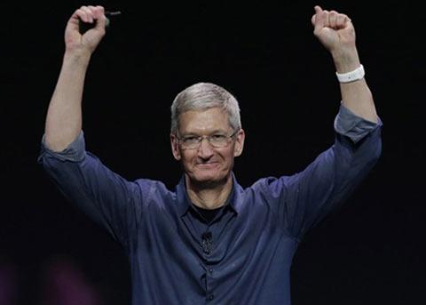 苹果以微弱优势超过微软 重回全球市值C位
