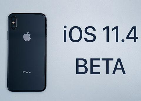 苹果发布iOS11.4 beta4 你准备更新么?