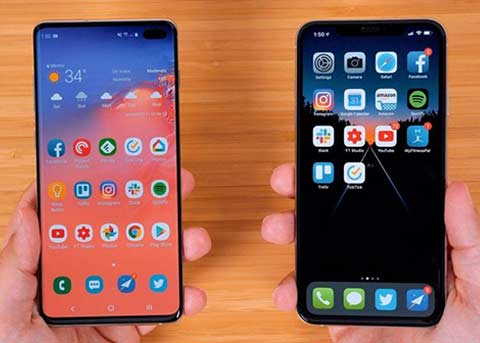 跑分对比:Galaxy S10+ vs. iPhone XS Max