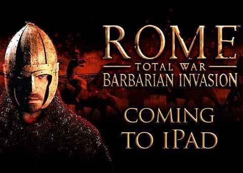 经典策略再移植《罗马:蛮族入侵》三月登陆iPad