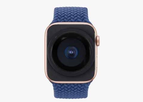 苹果新专利:未来Apple Watch显示屏可能内建完全隐藏的摄像头
