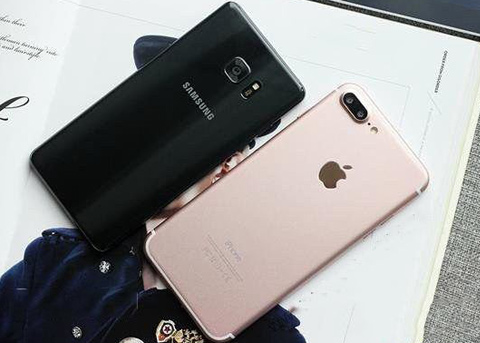上季度苹果战胜三星成智能手机制造商老大