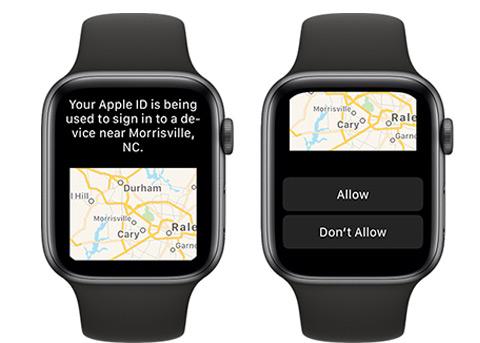 watchOS 6 新功能:可以显示 Apple ID 登陆验证码了