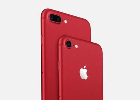 iPhone8惹的祸?苹果红色特别版iPhone7销量尴尬