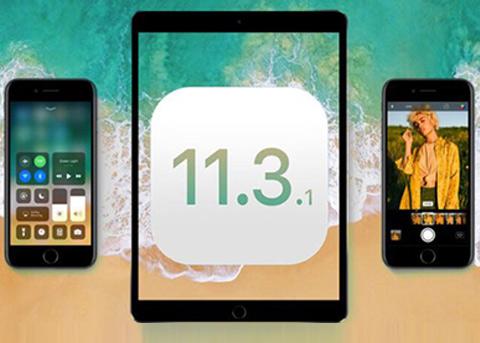 苹果发布iOS11.3.1 修复iPhone8第三方换屏无法触控的问题