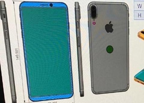 富士康流出iPhone8图纸 iPhone8将有全新设计?