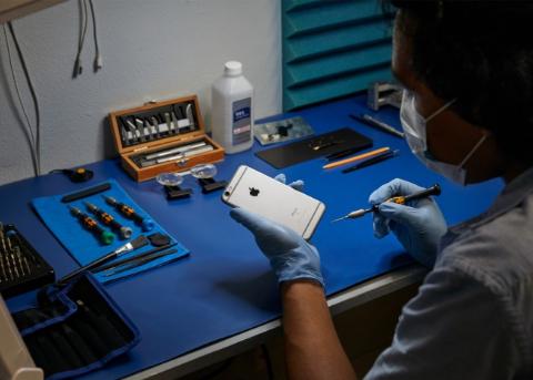 苹果在32国招募独立维修供应商 用官方配件维修