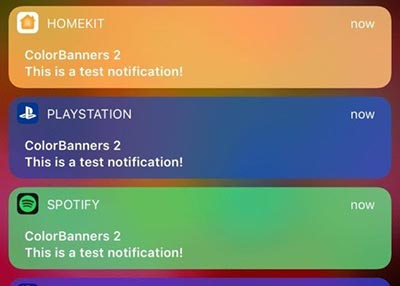 iOS10插件推荐:给iOS的通知横幅加点色彩