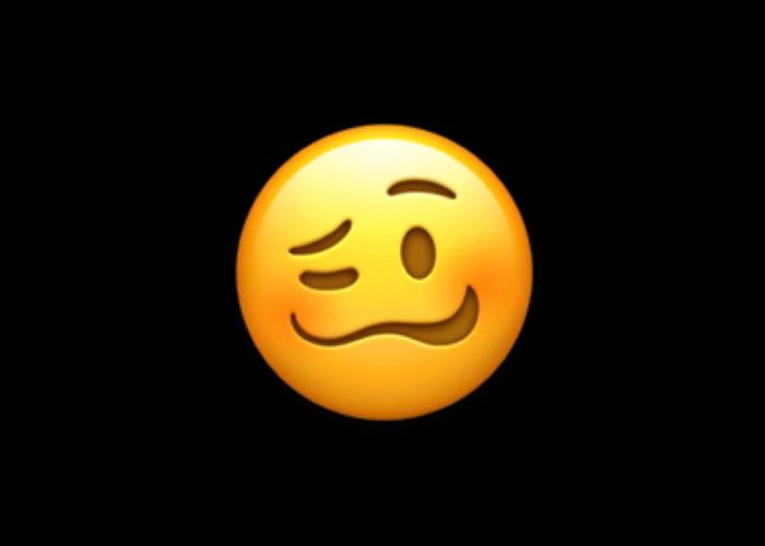 """苹果发布更新:用户输入""""口吃""""一词时将不再出现""""眩晕脸""""表情符号"""