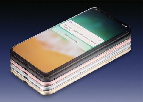 没有Home键的iPhone8如何调出多任务