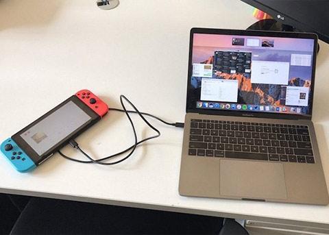 震惊!Switch连接MacBook Pro居然会这样