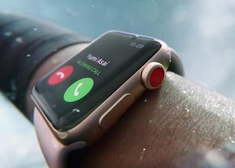 未来Apple Watch将提醒你何时该擦防晒霜
