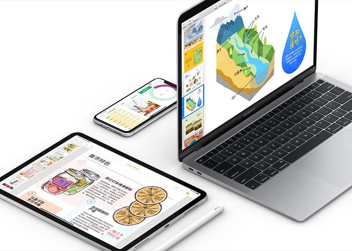 iOS 版 iWork 套件更新!深色模式,全面兼容 iOS 13