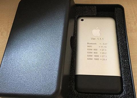 史上最罕见!疑似初代iPhone原型机现身eBay拍卖