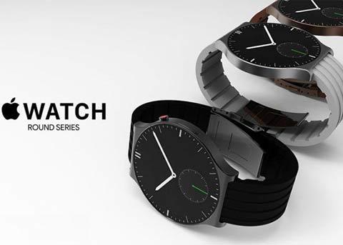 最新的Apple Watch概念:圆形设计机身更薄