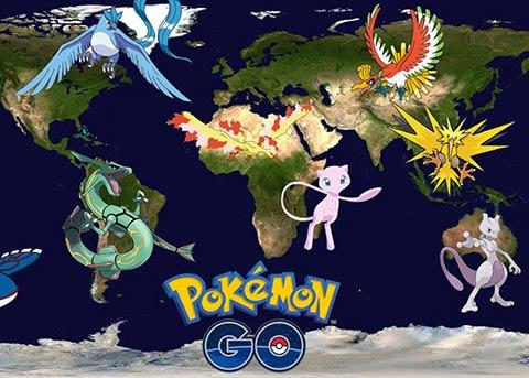 Pokemon go刷不出精灵、坐标在海上、地图空白的解决办法
