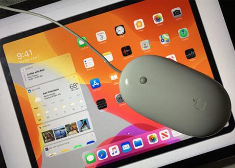 iPadOS测试版隐藏功能:支持鼠标控制