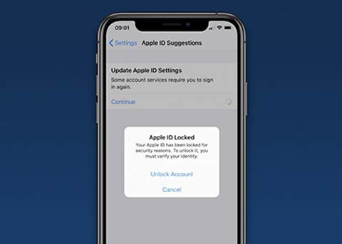 部分用户的Apple ID被锁定 你遇到了么?
