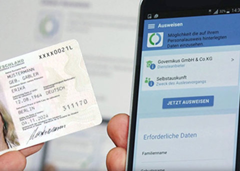 iOS13新功能:可以让iPhone读取德国身份证了