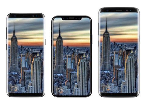 """iPhone 8""有多大?看这些对比就知道了"