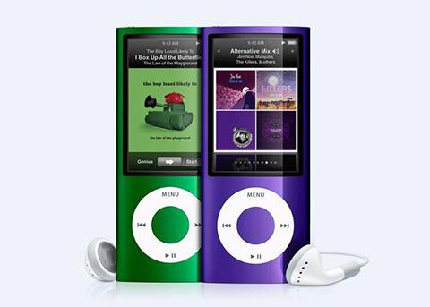 苹果终止iPod nano免费更换电池