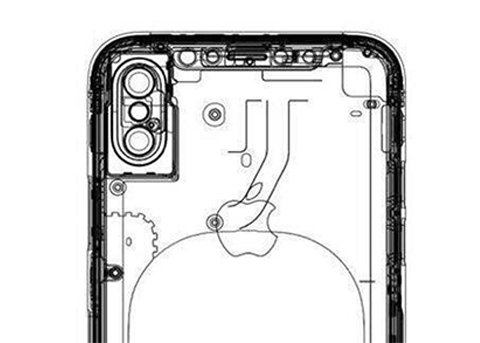 又有疑似iPhone8设计图:依然是垂直双摄