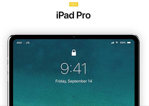 超窄边框iPad Pro概念设计 你觉得如何?