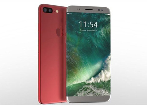 """今年真要""""红""""?红色版iPhone8概念设计来袭"""