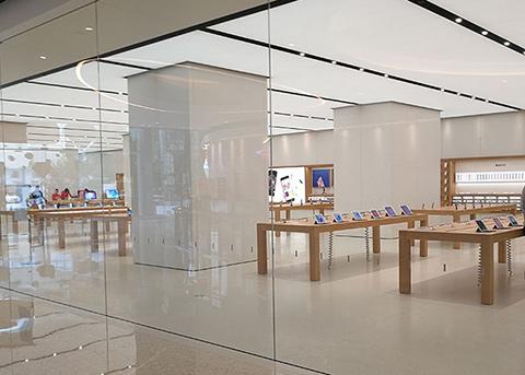 昆明首家Apple Store露真容 像颗小蘑菇