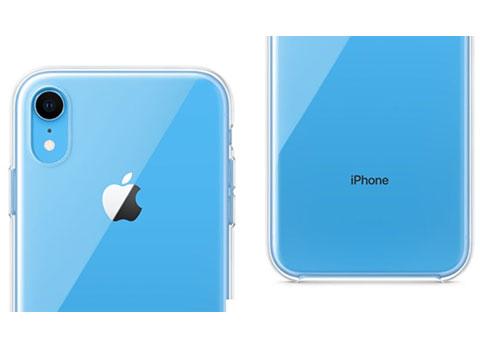 苹果为iPhone XR首次推出透明塑料保护壳