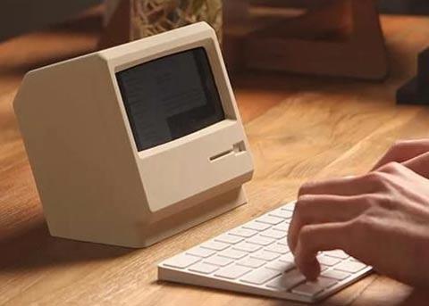 情怀系列:这个底座把iPhone变成复古Mac