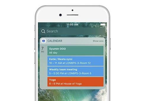 iOS版谷歌日历更新:增加Today小部件
