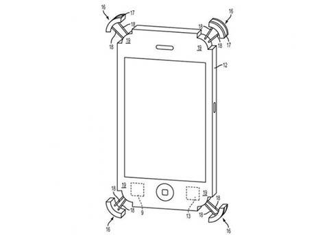 苹果新专利:为iPhone手机壳设计安全气囊