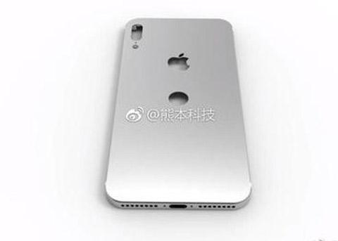 疑似iPhone8后壳谍照曝光:Touch ID后置?
