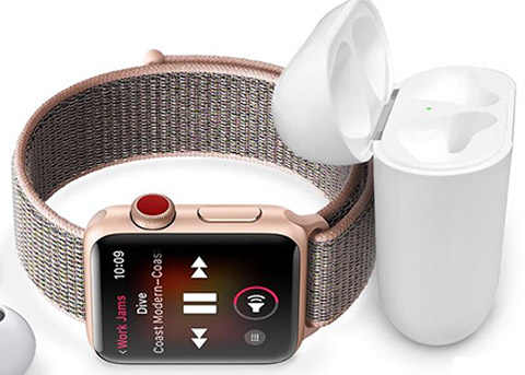 苹果公布新款Apple Watch的各项LTE续航