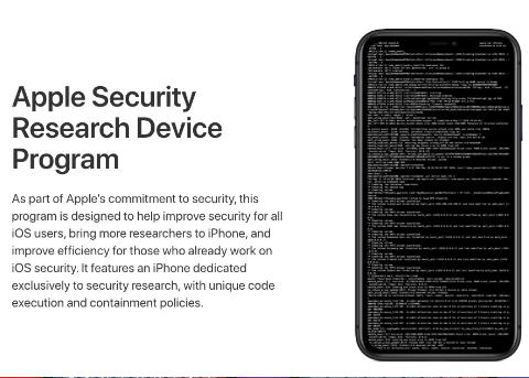 """苹果推出安全研究设备计划,为安全研究人员提供""""特殊""""iPhone"""