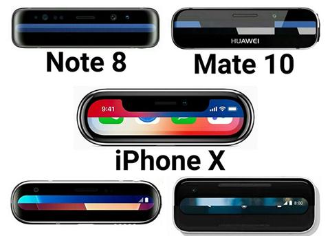 谁是你心中真正的全面屏?iPhone X吗?