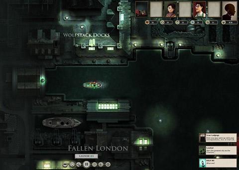 文字冒险游戏《伦敦陷落》续作《无光之海》将在3月23日上架