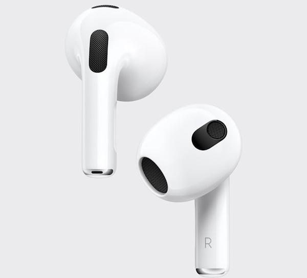 苹果AirPods 3开启空间音频后,续航将降为5小时