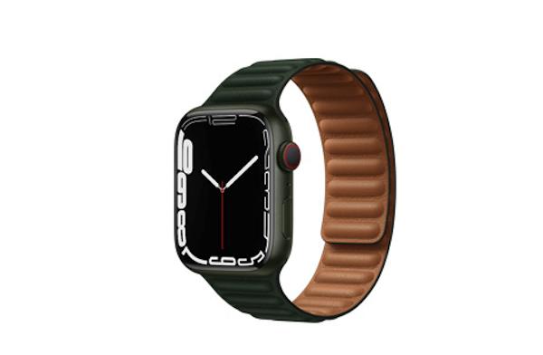 苹果手表表带未来或有可拉伸的血压袖带设计