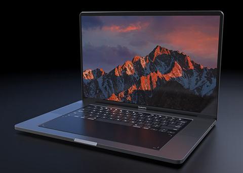 超酷炫的MacBook概念设计:万能的触控板