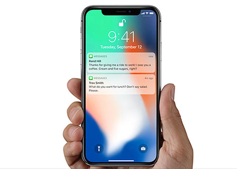 加强隐私保护:iPhone X锁屏界面默认隐藏通知预览