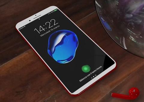 超酷炫的概念iPhone8:Home键的两种改动