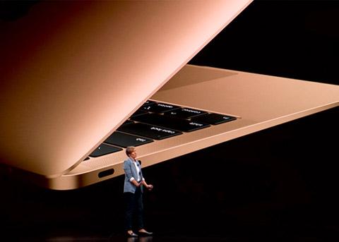2018年MacBook Air跑分:比上一代快得多
