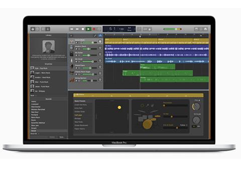 苹果Mac版GarageBand更新 所有课程免费
