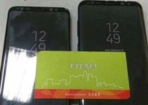 Galaxy S8/S8+排排坐:正方形虚拟Home亮相