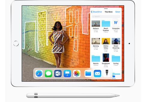 苹果发布新iPad支持Apple Pencil 售价2388元起